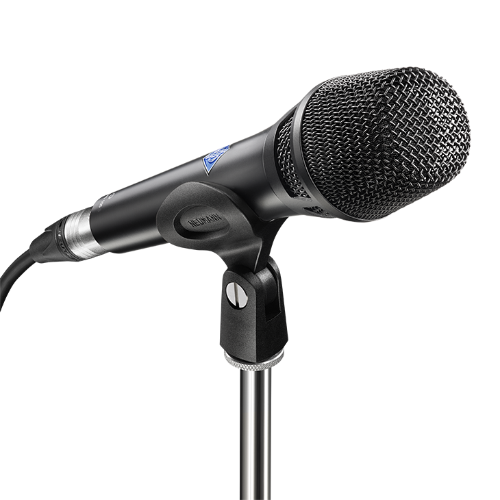 Product detail x2 desktop kms 105 d bk with sg105 neumann digital stage microphone m