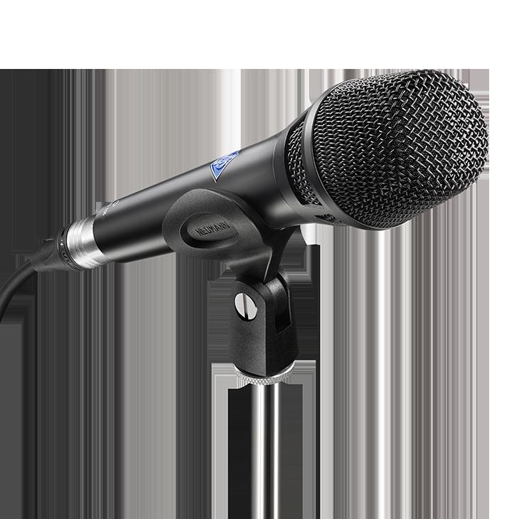 Product detail x2 desktop kms 105 d bk with sg105 neumann digital stage microphone m