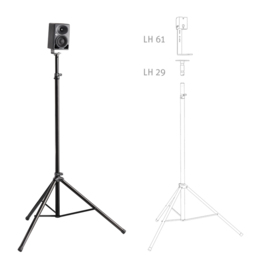 KH 80 DSP on a lighting stand