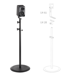 KH 80 DSP on a floor stand