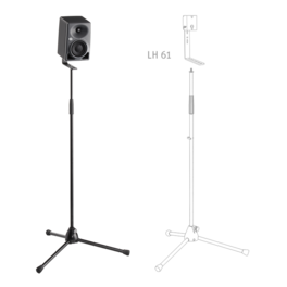 KH 80 DSP on a mic stand