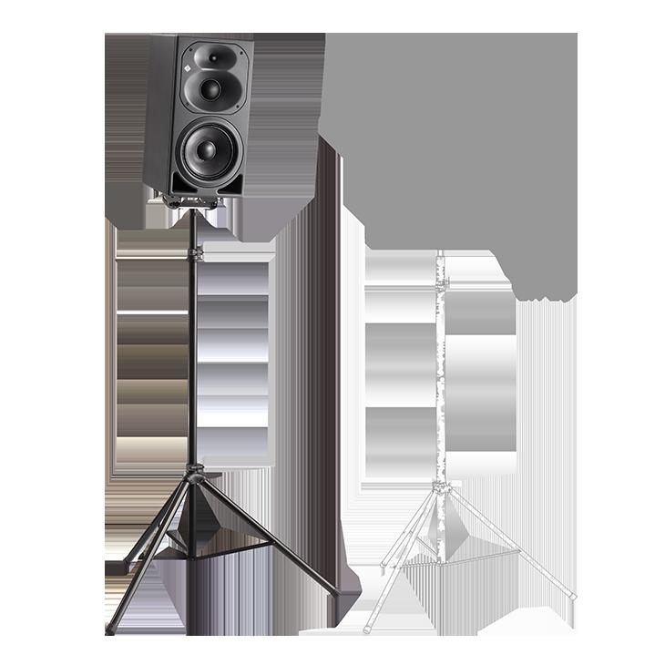 Product detail x2 desktop kh 420 on a lighting stand 2 neumann m
