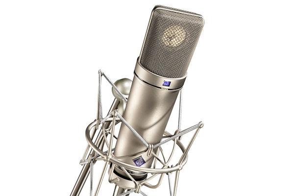 Neumann U87 helistuudio mikrofon